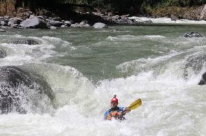 Kayaking Rapids Costa Rica