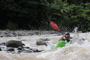 kayaking on the pacuare river