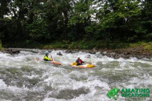 running rapids