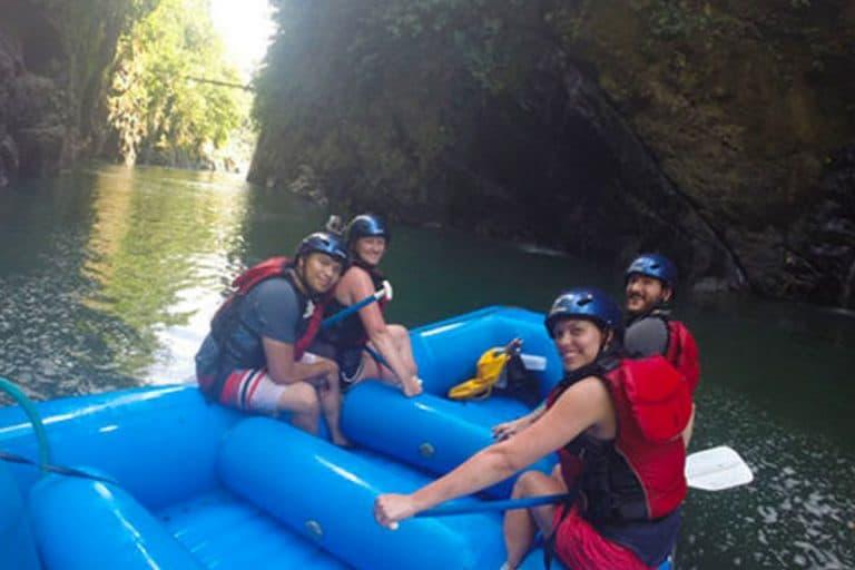 Family Trip Rafting