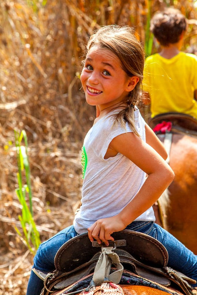 Kid Horseback Riding