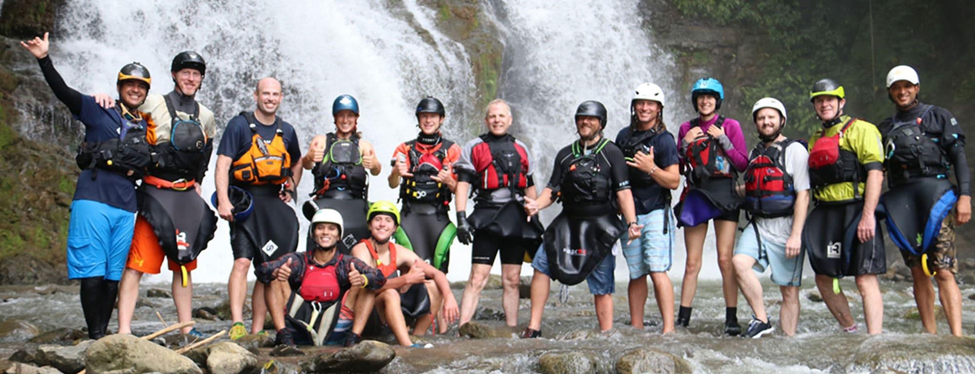 Sevegre River Waterfall Group Banner