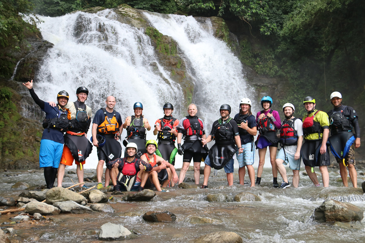 Sevegre River Waterfall Group